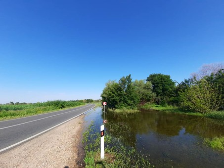 Наводнение на Днестре: вода прекратила подъем
