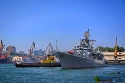 День флота Украины: вдоль берегов Одессы прошел морской парад (ФОТО, ВИДЕО)