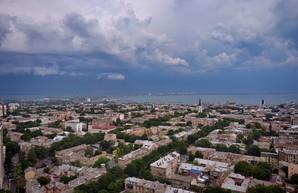 В Одессе и области сегодня обещают грозу и град