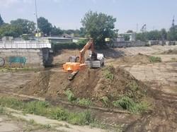 В Одессе снова вычистили резервный водоем в начале Балковской
