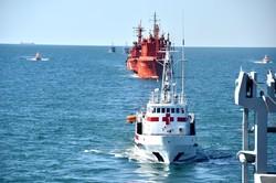 Не только парад: ВМС Украины провели масштабные учения в море (ФОТО)