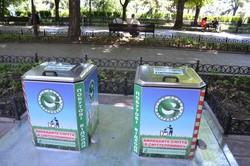 В Одессе установили первые подземные мусорные контейнеры