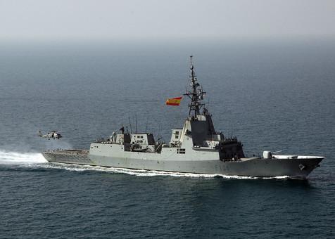 В Одессу зайдет эскадра НАТО во главе с испанским ракетным фрегатом
