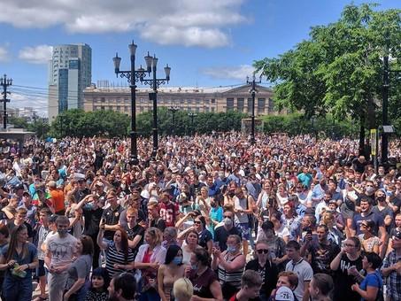 Протесты в Хабаровском крае – триггер грядущей российской турбулентности