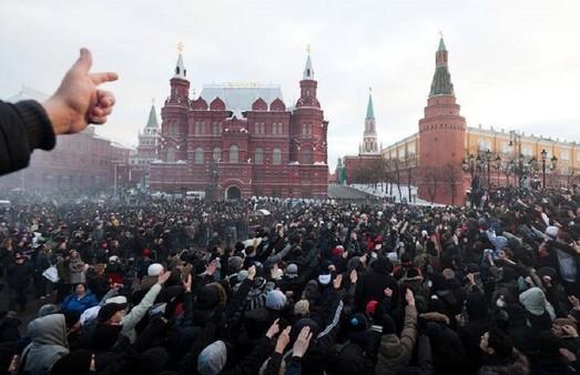 В российском обществе повышается градус готовности к протесту