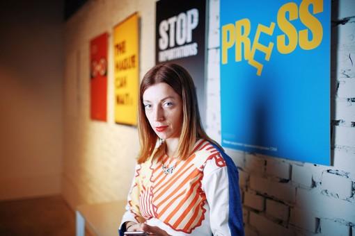 """Из Украины """"бежала"""" аффилированная Россией журналистка Катерина Сергацкова"""