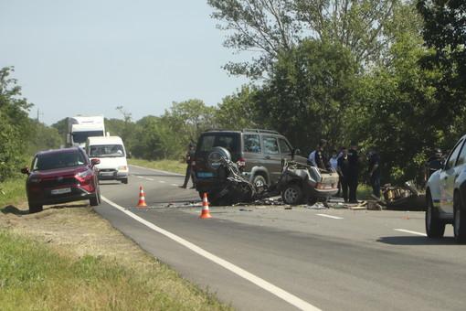 В аварии на трассе Одесса - Рени погибли на месте 6 человек