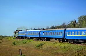 Возобновляют пассажирский поезд из Одессы в Запорожье