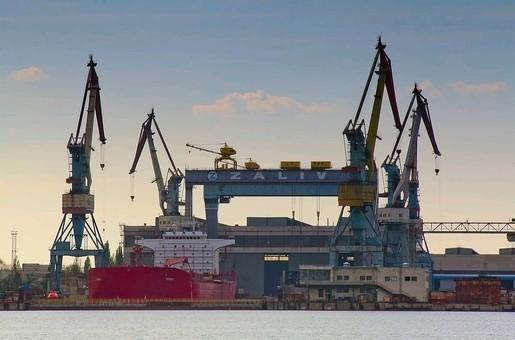 """Судостроительный завод """"Залив"""": чёрная дыра кораблестроения оккупантов"""