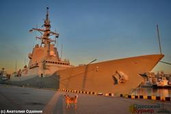 Эскадра НАТО нанесла визит в Одессу (ФОТО)