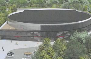 Показали новый проект дворца спорта в Одессе: больше зелени и круглое здание (ФОТО)