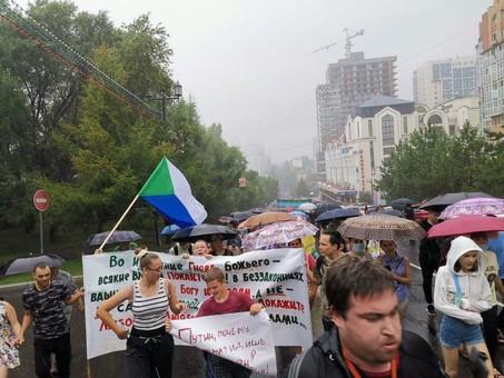 Кремлевские триггеры Хабаровска: на четвертую неделю протест одного края перекинулся на всю Россию