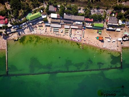 Вода в море на пляжах Одессы чистая
