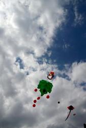 В Одесской области прошел чемпионат воздушных змеев