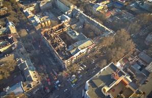 Сгоревший дом Асвадурова в Одессе: нет плана и проекта восстановления (ВИДЕО)