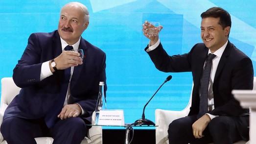 Беларуское ристалище и Украина