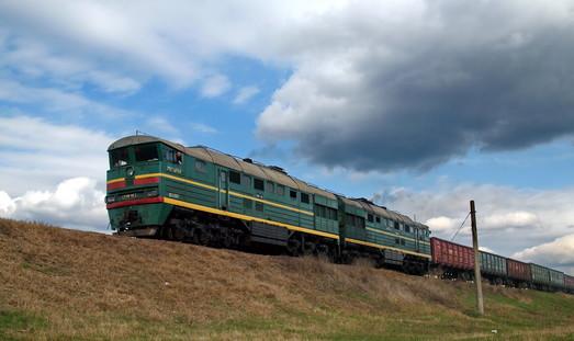 В Одесской области на железной дороге горел локомотив