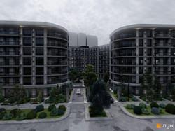 В Одессе будут застраивать жилыми домами теннисные корты около парка Шевченко