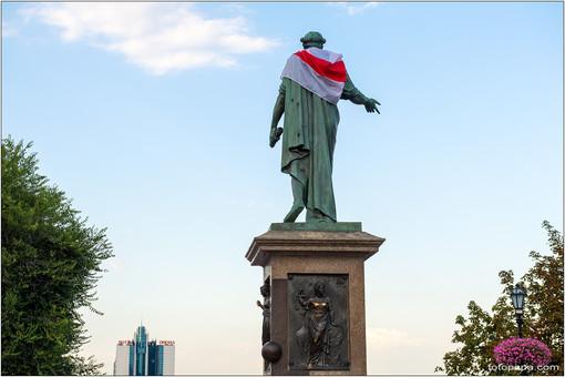 В Одессе прошли две политические акции на тему Беларуси