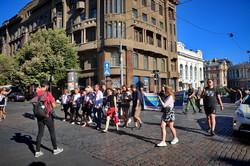 По Одессе прошел марш защитников Украины (ФОТО)