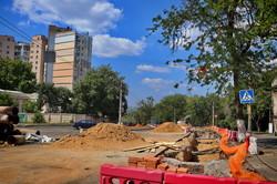 Как в Одессе ремонтируют теплотрассу на улице Пастера (ФОТО)