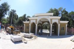Как строят новый вход в Одесский зоопарк (ФОТО)