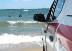 На пляже в Черноморске нашли старую морскую мину (ФОТО, ВИДЕО)