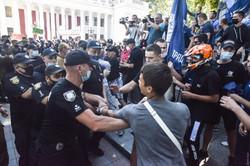 Одесса-Прайд 2020: произошла драка на Думской площади
