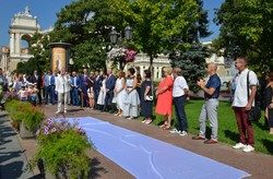 День города: в Одессе открыли новые имена на Аллее Звезд