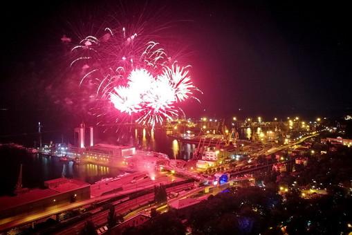 Каким был праздничный салют в Одессе на день города (ФОТО, ВИДЕО)