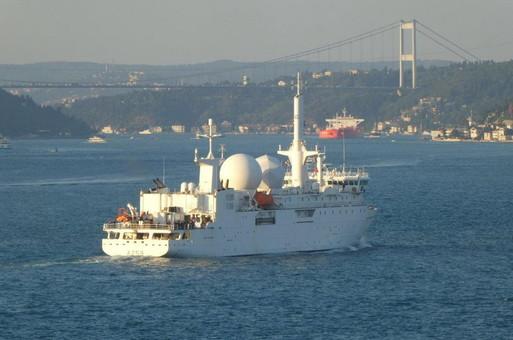 В Черное море вошел военный корабль Франции