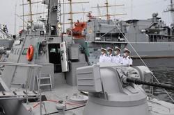 ВМСУ в Одессе приняли в боевой состав новый бронекатер и провели учения (ВИДЕО)