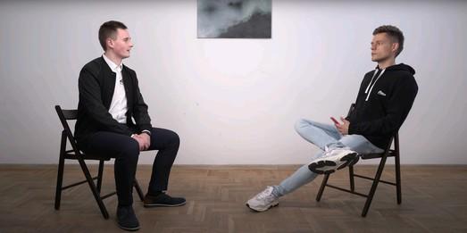 Интервью создателя NEXTA Юрию Дудю или ГРУ чужих к своим не пускает