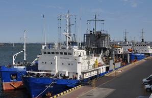 В порту Одессы стартовало углубление дна