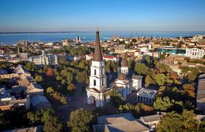 В Одессе показали с высоты Соборную площадь и Преображенский собор (ФОТО, ВИДЕО)