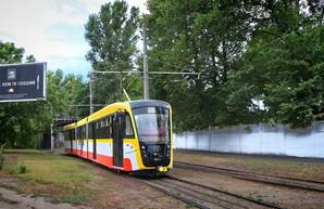 Трамвай в Одессе отмечает 110-летний юбилей (ВИДЕО)