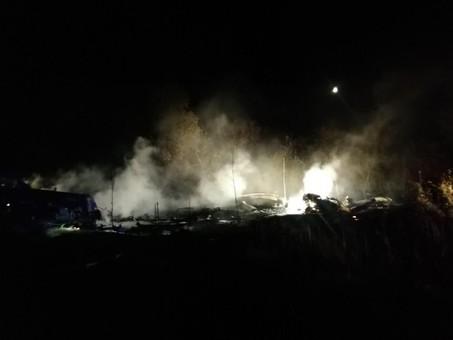 Под Харьковом разбился военный самолет АН-26