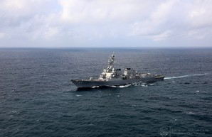 ВМС Украины провели совместные маневры с американским ракетным эсминцем (ФОТО, ВИДЕО)