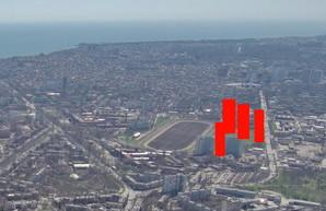 Территорию вокруг одесского ипподрома уже зачищают под застройку высотками (ВИДЕО)