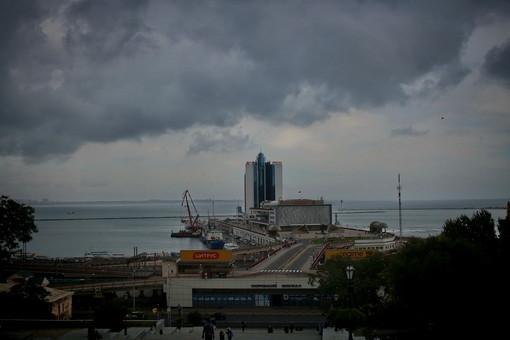 Осеннее небо над Одессой (ВИДЕО)