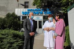 Мэр Одессы: в городе открыли уникальный Центр здоровья семьи
