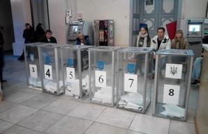Явка избирателей на выборах в Одессе очень низкая