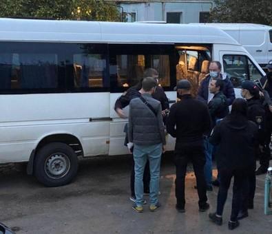 Под Одессой псевдополицейские напали на журналиста
