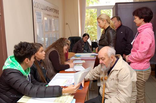 В Одесской области пришли на выборы лишь чуть более трети избирателей