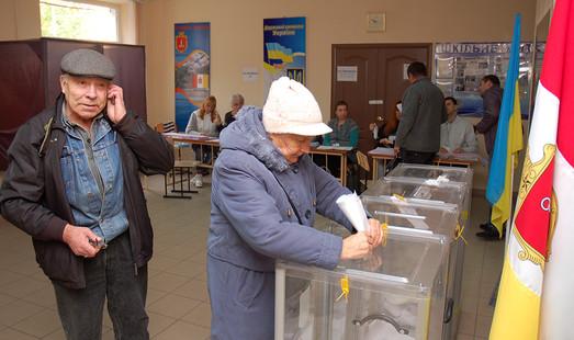 Явка избирателей в Одессе менее 30%