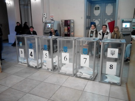 Подсчет голосов в Одессе продолжается исключительно долго