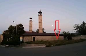 """Фейк про """"обстрел иранской мечети"""" в Шуше азербайджанской армией (фото)"""