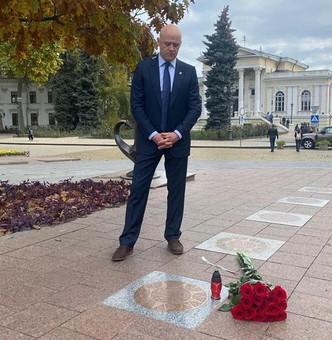 Мэр Одессы почтил память Жванецкого