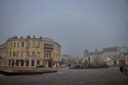 Осенняя Одесса в тумане (ФОТО)