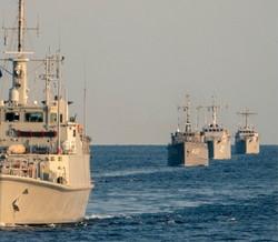ВМС Украины и минно-тральная группа НАТО провели совместные учения